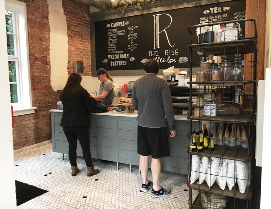 Public spaces at The Restoration include The Rise coffee shop, as well as a courtyard, a gallery, rooftop restaurant and bar The Watch, and a spa.