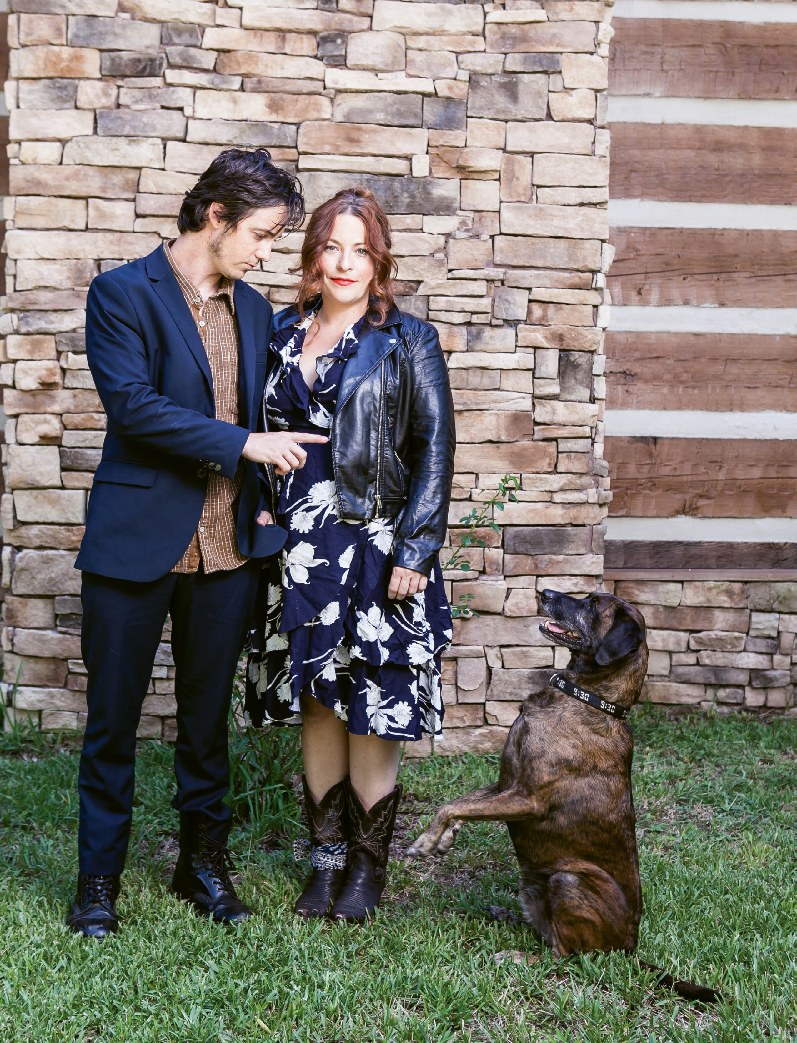 "Sittin' Time:  Townes, the unofficial third, and faithful, member of Shovels & Rope, hits the road with the band, and steals the show when he can, like when he was the subject of a New Yorker ""Talk of the Town"" column (""A Dog's Life"") in September 2013."