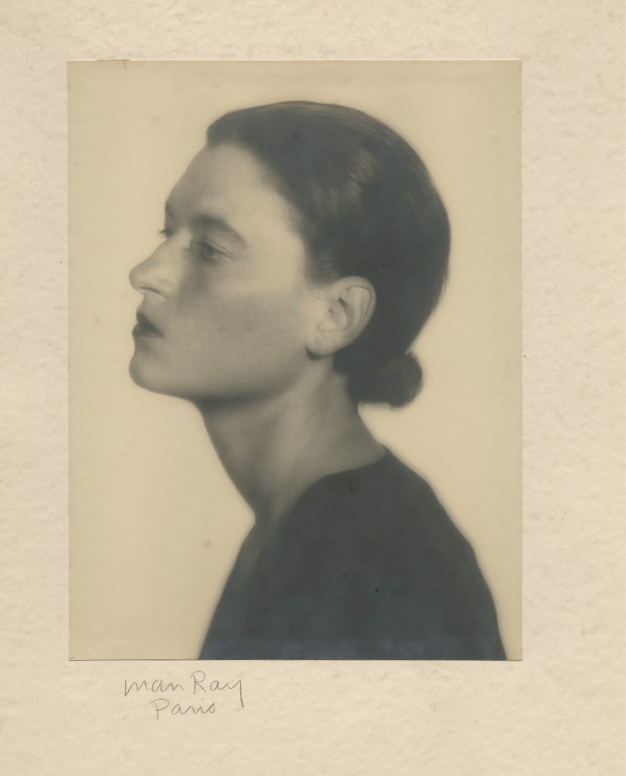 A 1929 portrait shot by Man Ray in Paris