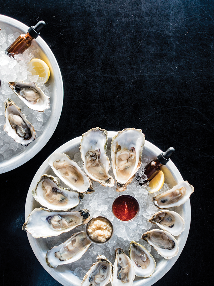 "John ""Johno"" Morisano and chef Mashama Bailey's bustling restaurant and oyster bar."