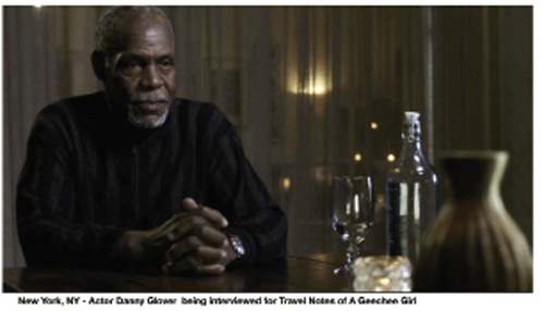 For Travel Notes of a Geechee Girl, Julie Dash is traveling far and wide to interview luminaries, such as actor Danny Glover
