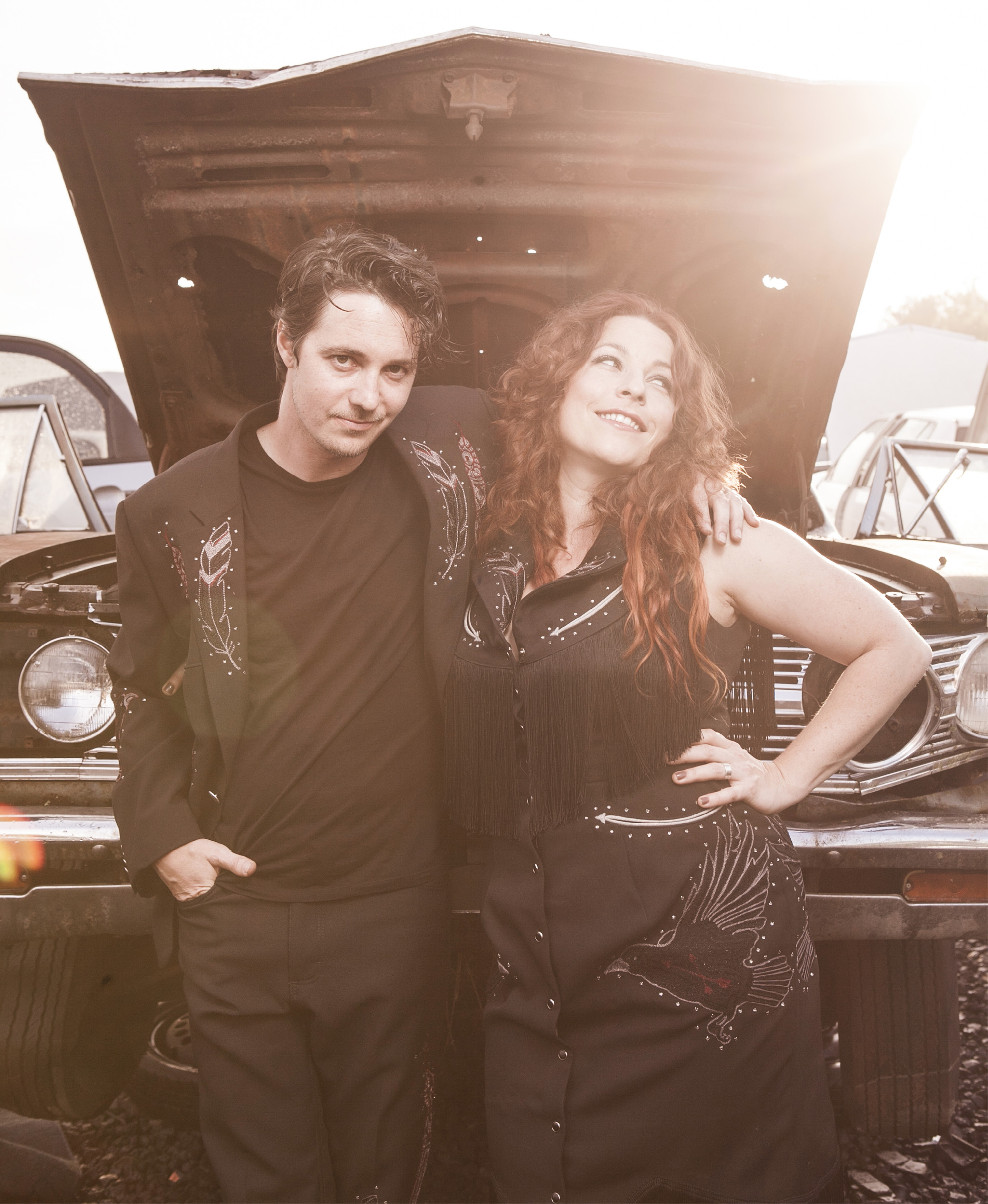 Tune Up: Don't be fooled by the junkyard backdrop; the musical horsepower of Cary Ann Hearst and Michael Trent is at full-throttle with their recent release, Little Seeds.