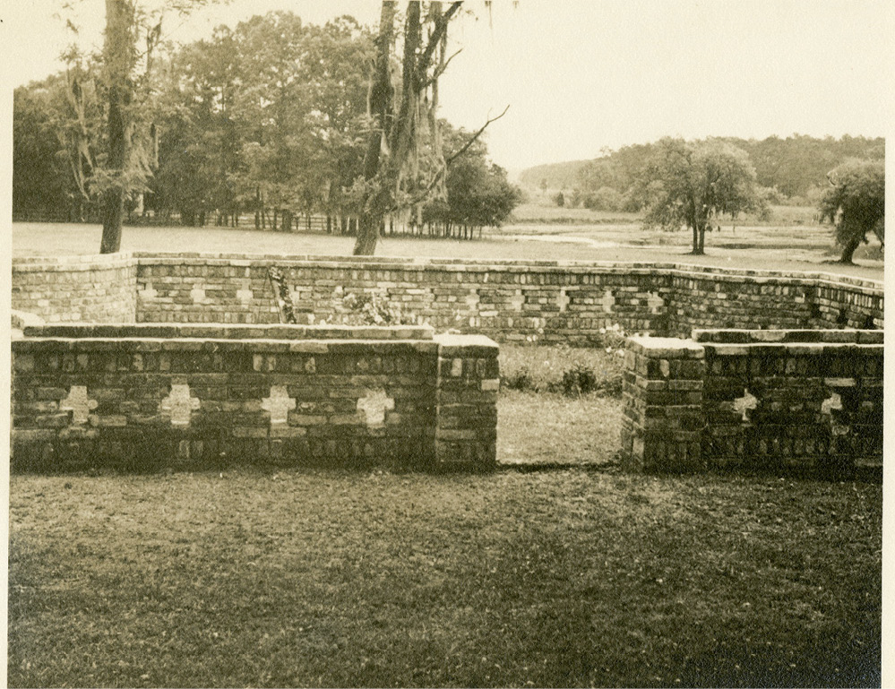Sidney's grave at Medway; when Gertrude died in 2000—just shy of her 98th birthday—she was buried next to him.