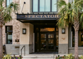 "Holy City Stay: ""We're blown away by the staff at The Spectator Hotel. They always make us feel so welcome."""