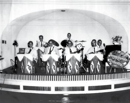 The orchestra at The Cavallaro
