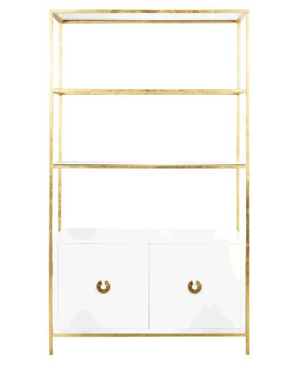 """Worlds Away"" Wyeth cabinet, $3,248, at Candelabra"