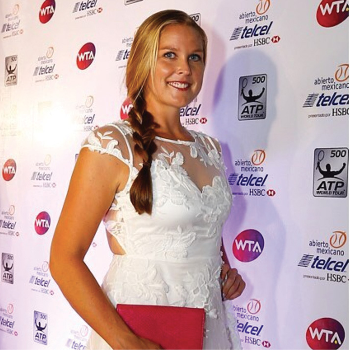 At the WTA White Party in Acapulco