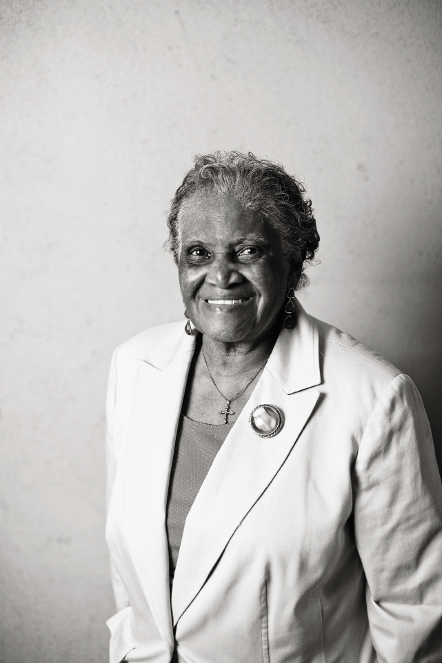 """Martha Lou Gadsden: chef-owner at Martha Lou's Kitchen Years in F&B: 60 plus Education: """"I learned by doing."""""""