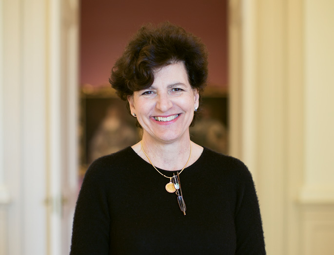 """""""There is not a controversial topic that cannot be addressed in a thoughtful and empathetic way through art. It's a fantastic avenue for building bridges, and I believe it's incumbent on us as an institution to make that happen,"""" says Gibbes Museum of Art executive director Angela Mack"""