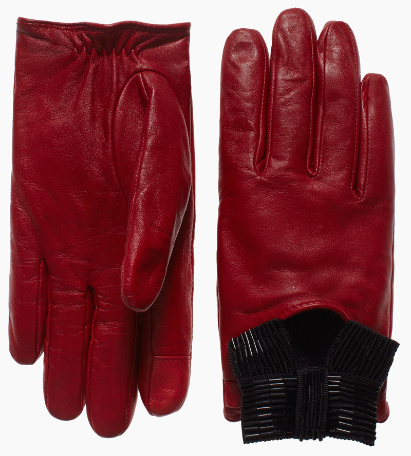 Madison Ave. tech friendly driving glove, $228 at Kate Spade