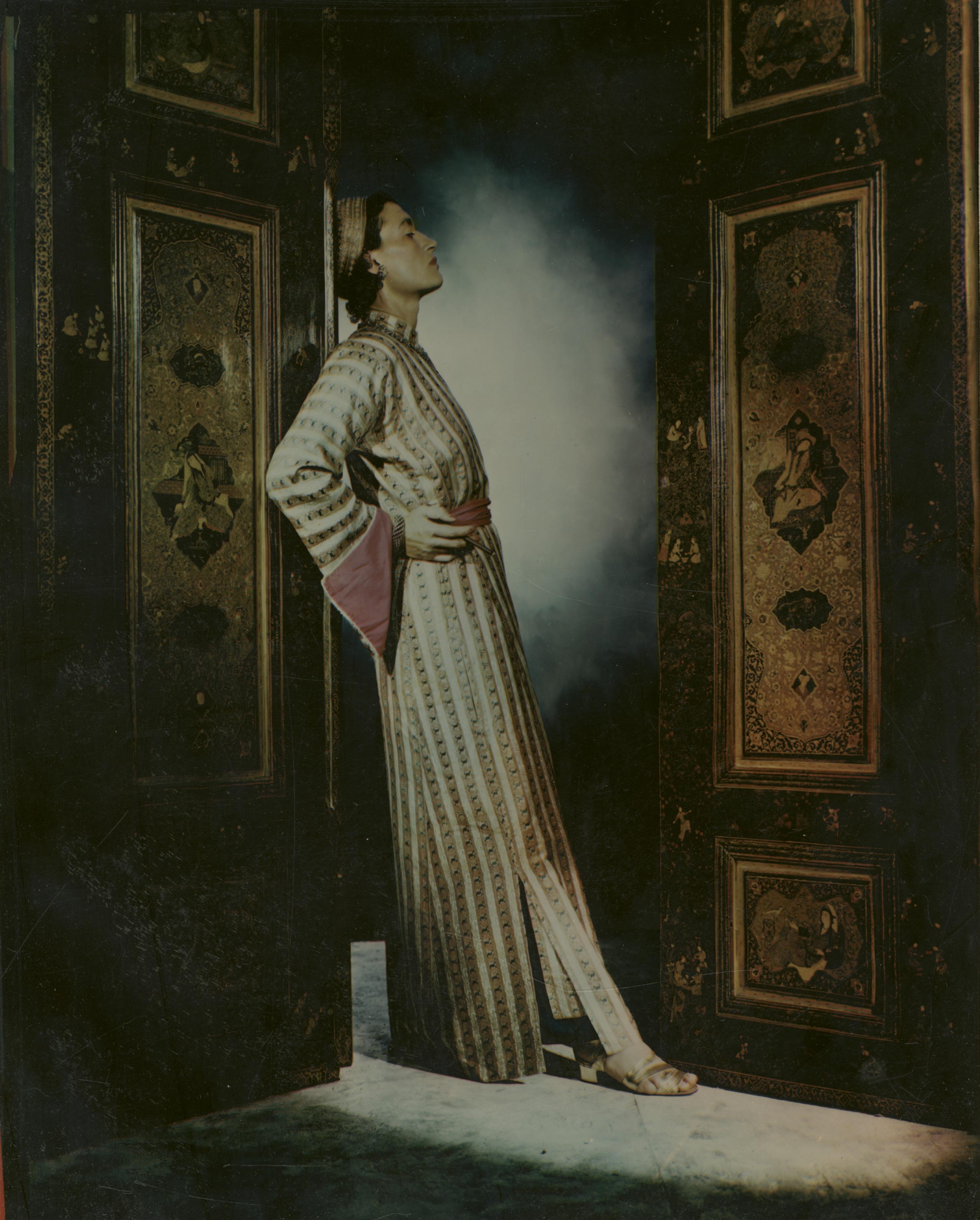 Gertrude Sanford Legendre—the internationally known globetrotter, socialite, and big-game hunter—as photographed by George Platt Lynes for Harper's Bazaar in 1938