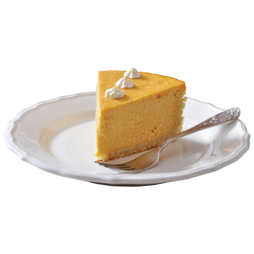 """Sweet Stuff: """"I love baking. If I'm stressed, it's my relaxation. I make a famous pumpkin cheesecake once a year."""""""
