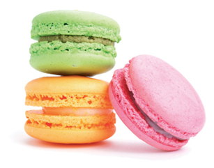 """Top Treat - """"Danetra Richardson of Swank Desserts  has delicious French macarons, as does the Macaroon Boutique on John Street."""""""