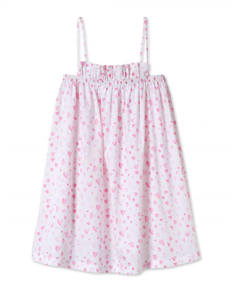 """Lake Pajamas """"Heart"""" ruffle dress, $84 at Lake Pajamas"""