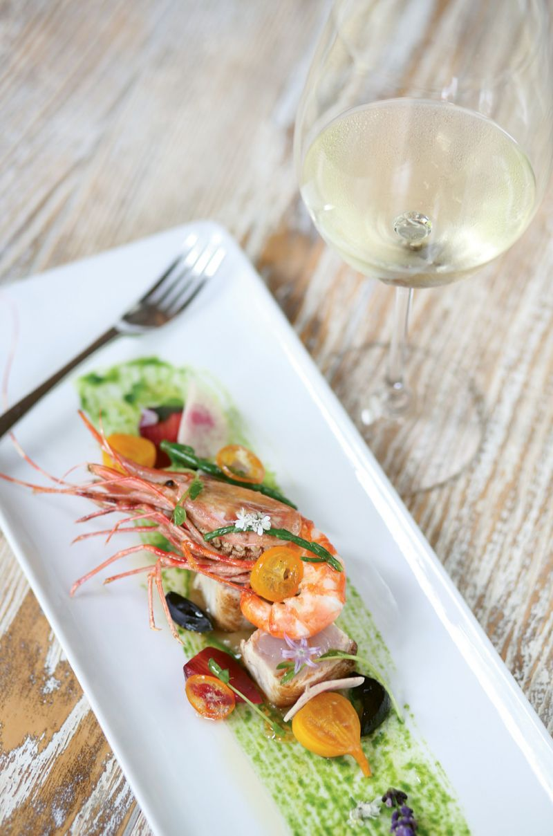Find distinctly modern and worldly fare at Artisanal in Banner Elk.