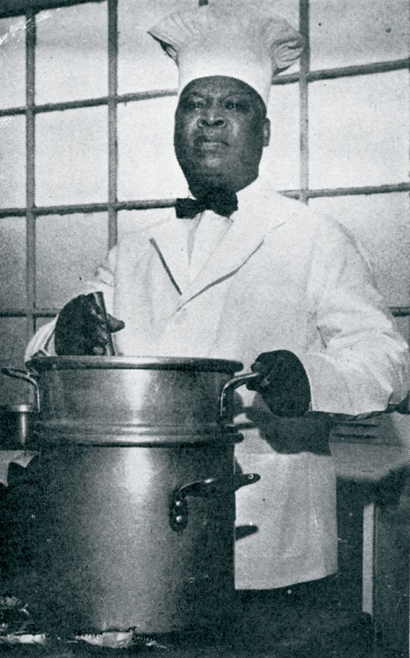 Everett's chef William Deas created she-crab soup while cooking for Mayor Goodwyn Rhett.