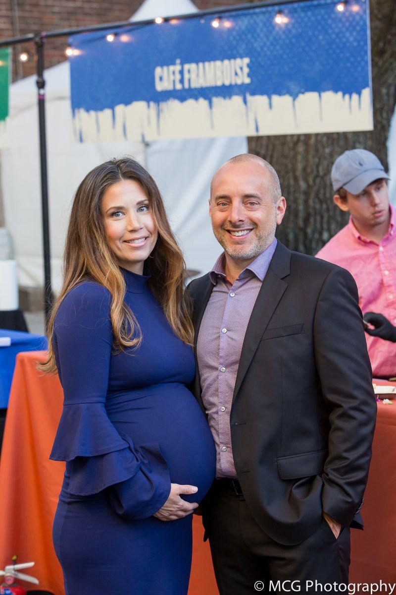 Carmella's Cafe & Dessert Bar owner Brian Solari and his wife, Tiffany