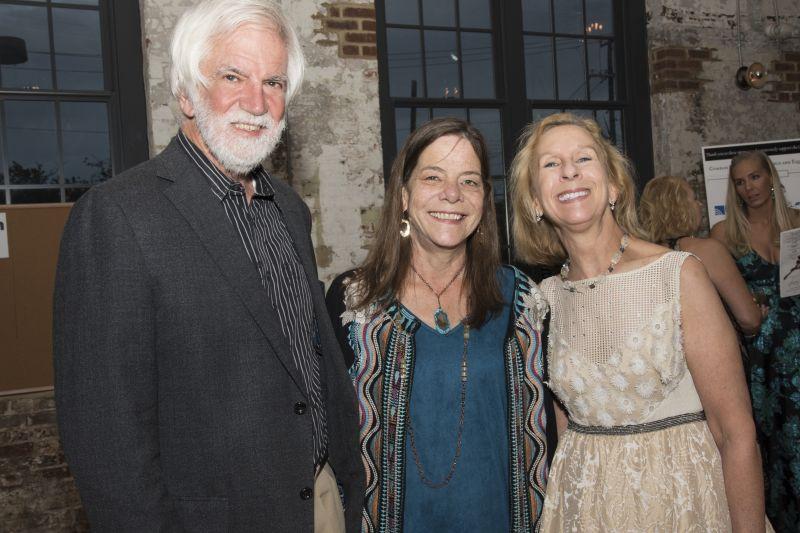 Fred and Nancy Worsham with Patti Jones