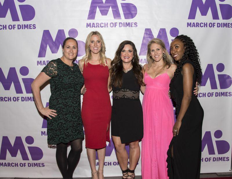 Monica Estes, Katie Polley, Dorothy Baker, Katie Bullwinkel, and Elizabeth Jennings