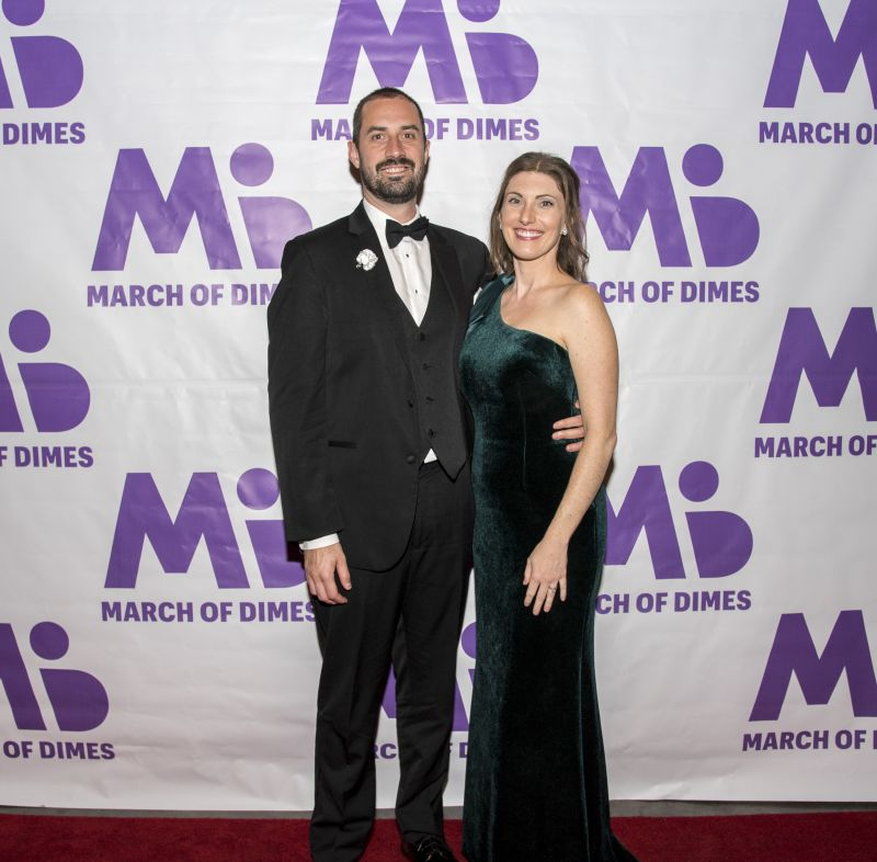 March of Dimes ambassadors Nick and Alana Ronnquist