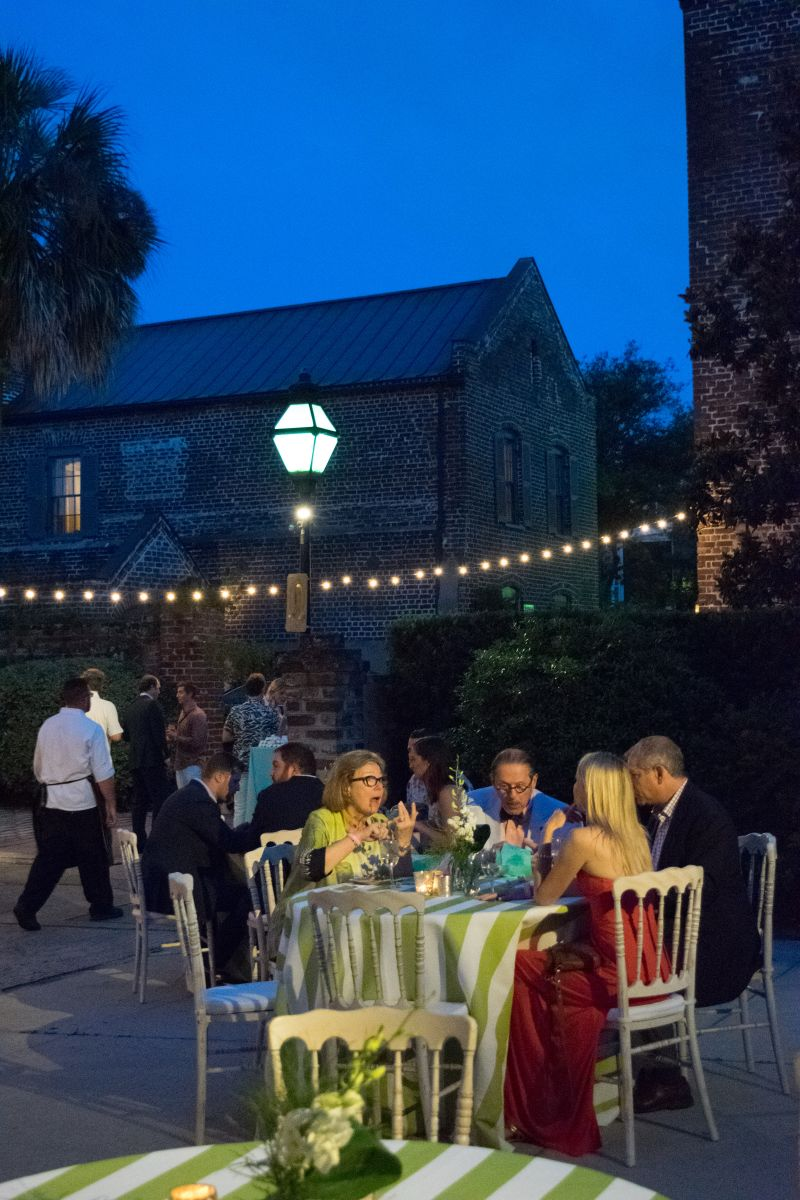 Bedon's Alley played host to the party for the first time in nearly 10 years.