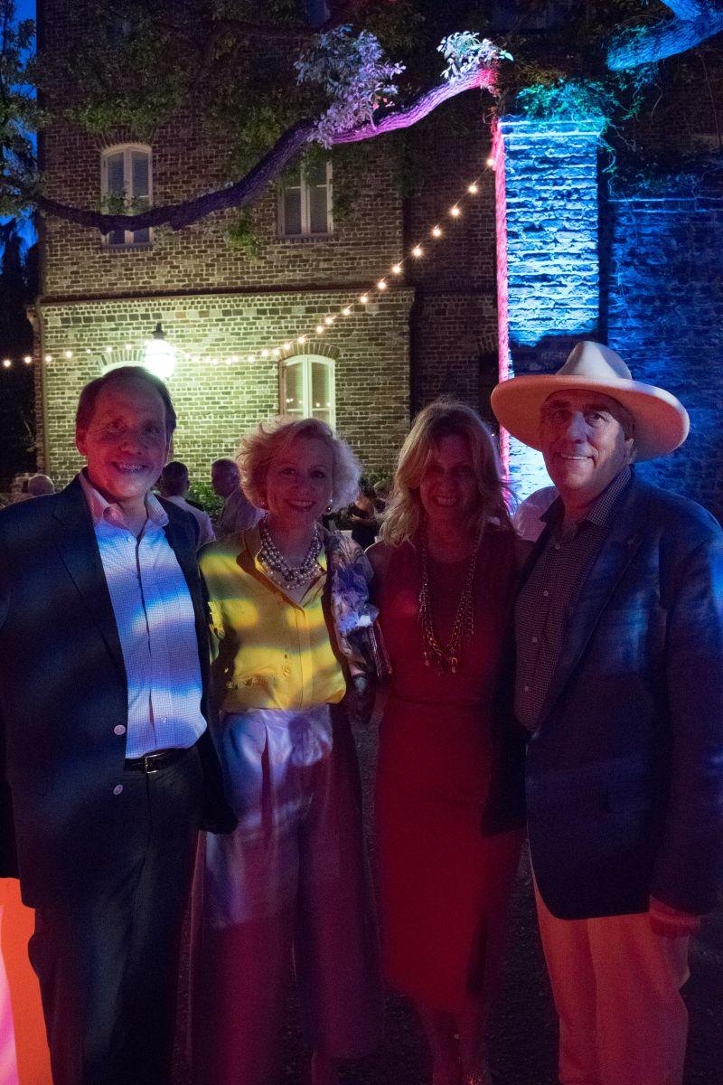 Ed Weisiger, Betsy Fleming, Rhonda Cato, and Wayland Cato III
