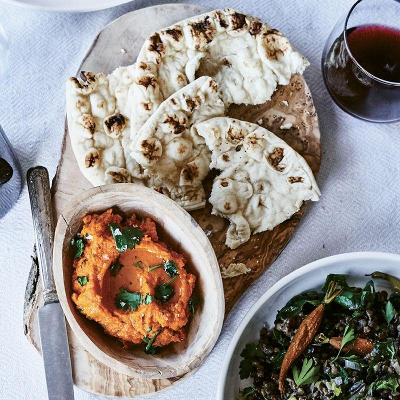 Spicy Carrot & Harissa Spread
