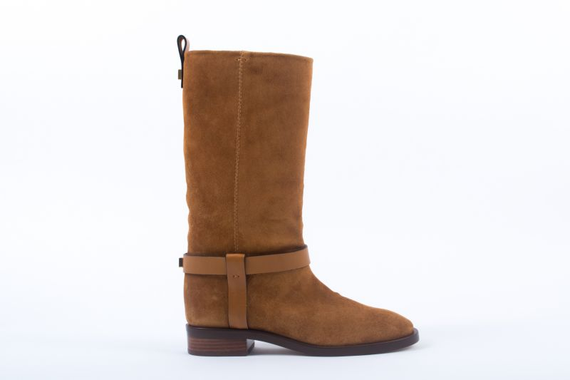 "Stuart Weitzman ""The Casey"" boot in bridle ansonia, $698 at Shoes on King"