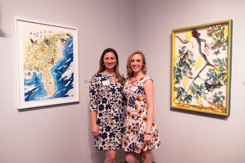 Lauren Kuhn and Stephanie DePre