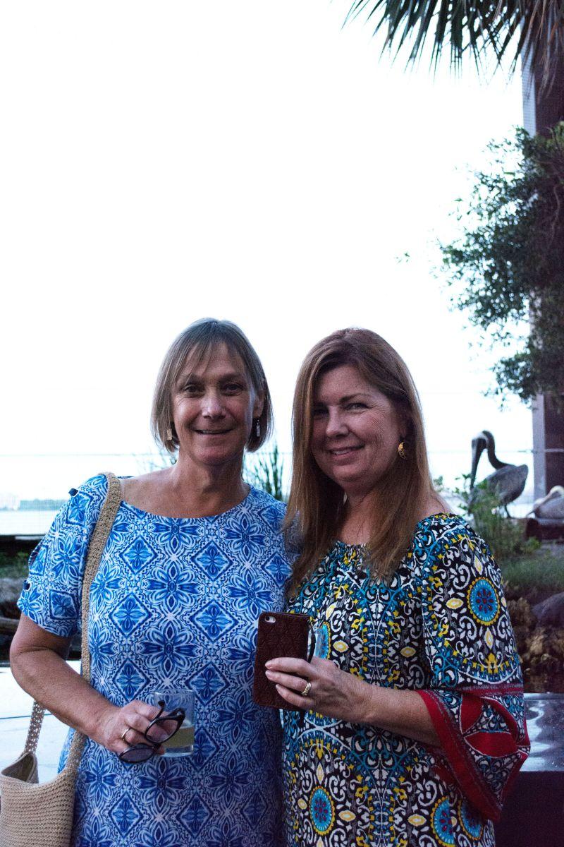 Karen Thompson and Merry McKenna