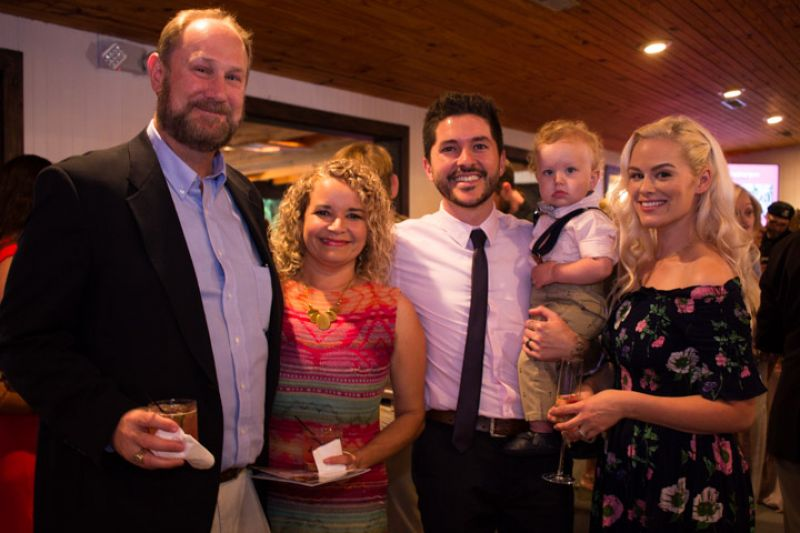 Bob and Claudia Richey with the Ciprari family
