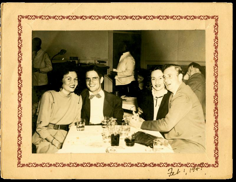 Among the restaurant's offerings were souvenir photos.