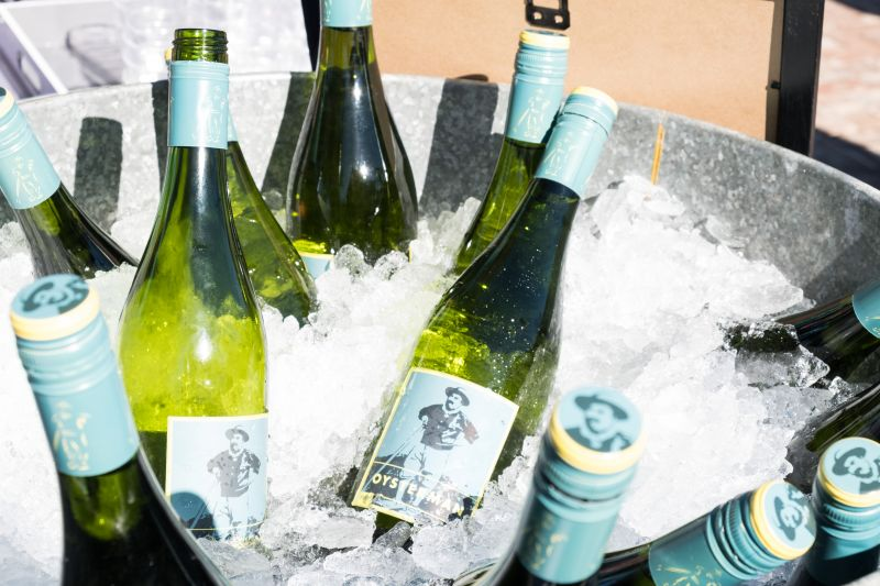 Pop that cork for a good cause—Oysterman Wine, in partnership with Toadfish Outfitters, replants 10 square feet of coastal oyster beds with every case sold.