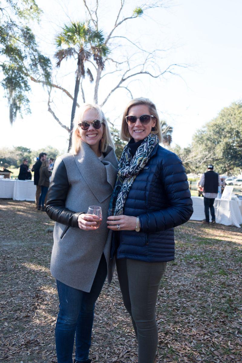 Anna Shuford and Elizabeth Chamblee