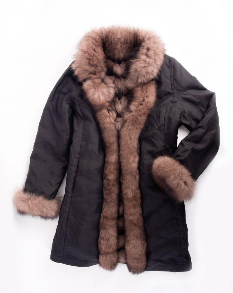 Linda Richards fox sable reversible jacket, $1,520 at Lori+Lulu