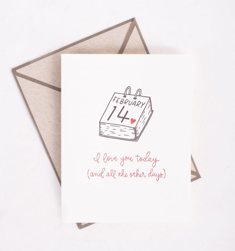 """Ink Meets Paper """"Today and all other Days"""" card, $5 at Abide-A-While"""