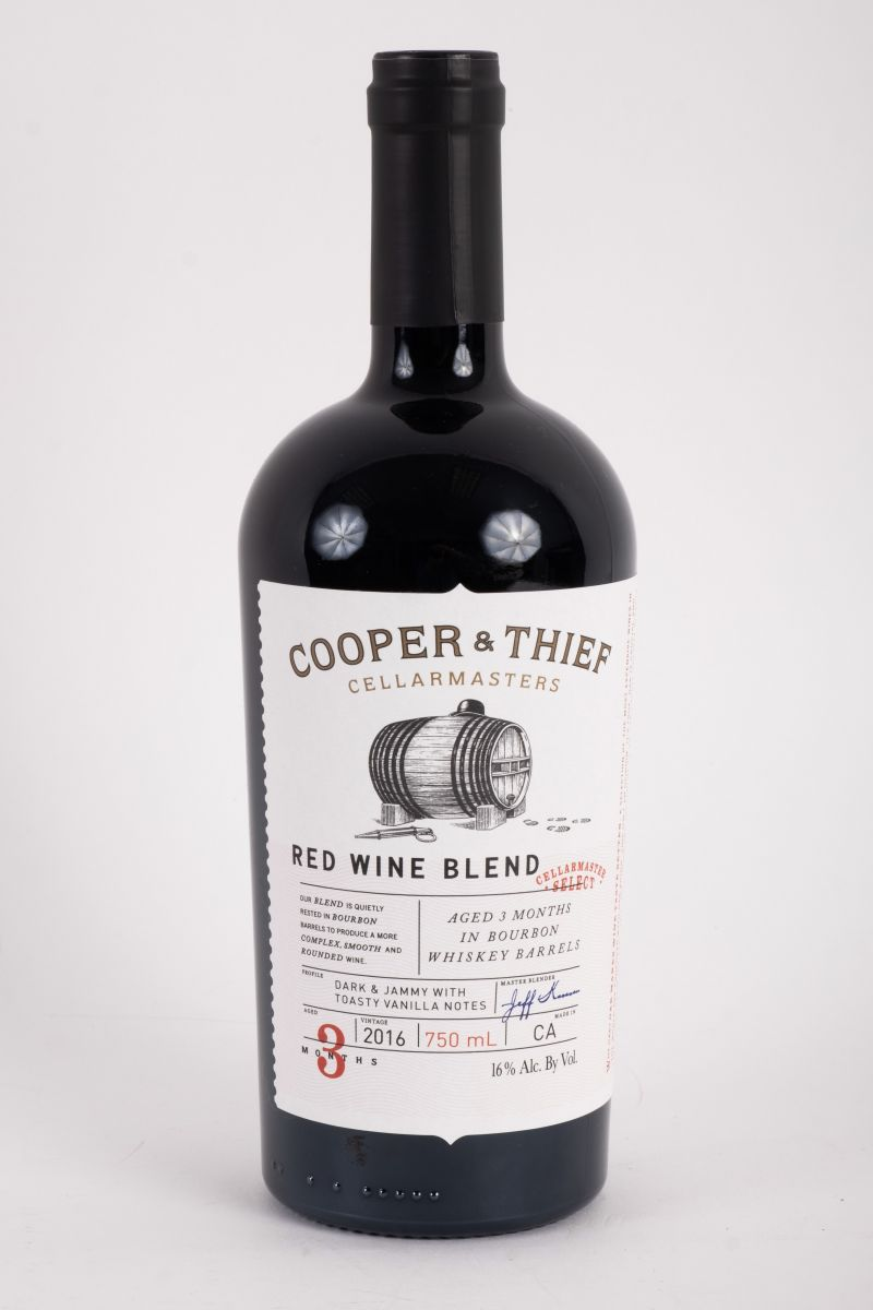 """Cooper and Thief """"Dark and Jammy"""" red wine blend, $22 at Bottles Mount Pleasant"""