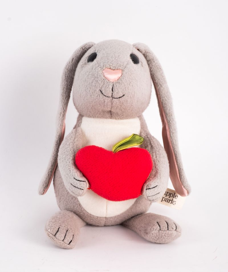 """Apple Park """"Picnic Pal"""" bunny, $50 at Under the Almond Trees"""