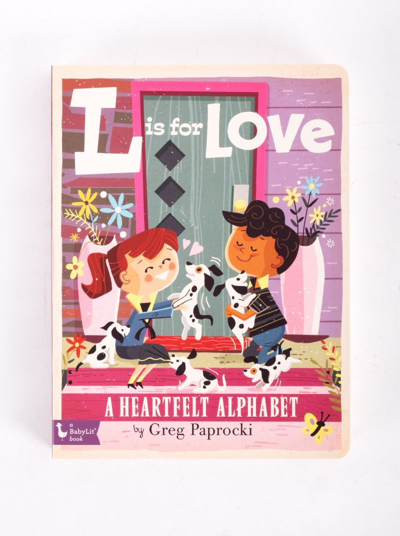 """""""L is for Love"""" book, $10 at Under the Almond Trees"""