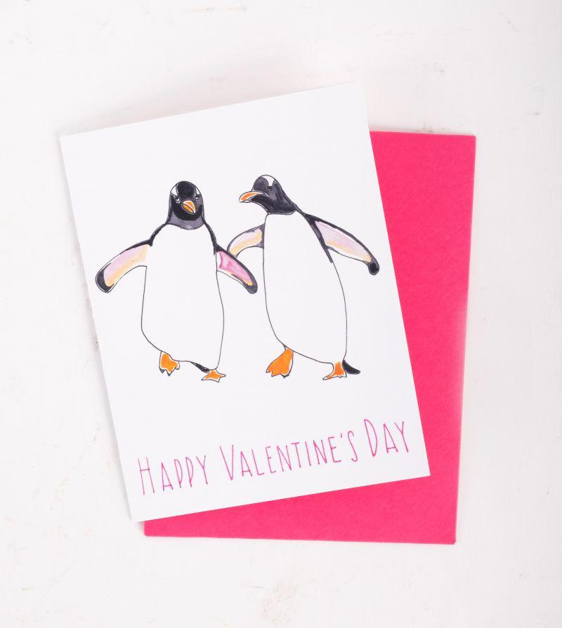 Slow Poke Press Valentine's Day card, $4 at Christophe Artisan Chocolatier