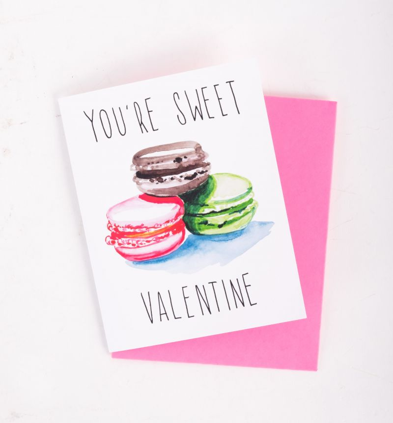"Slow Poke Press ""You're Sweet"" card, $4 at Christophe Artisan Chocolatier"