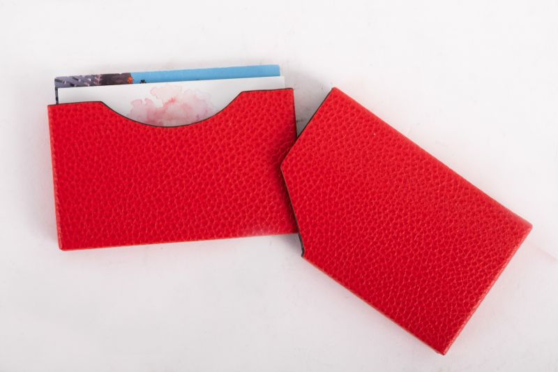 """""""Roma"""" card holder in red, $39 at Gwynn's of Mount Pleasant"""