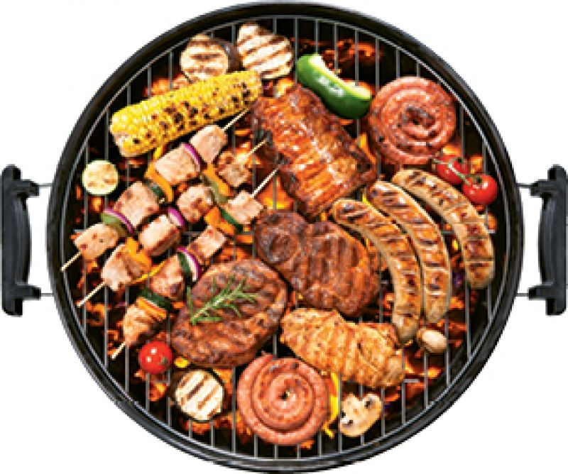 """Surround Sound: """"We hang with the Lewis Barbecue crew, fire up the grill on my back porch, listen to music and drink some booze, and eat."""""""