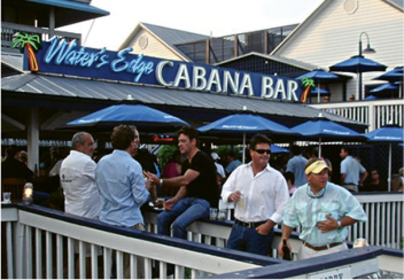 """Happy Hour: """"I like to go to Water's Edge on Shem Creek, sit by the water, and drink a cold one. """""""
