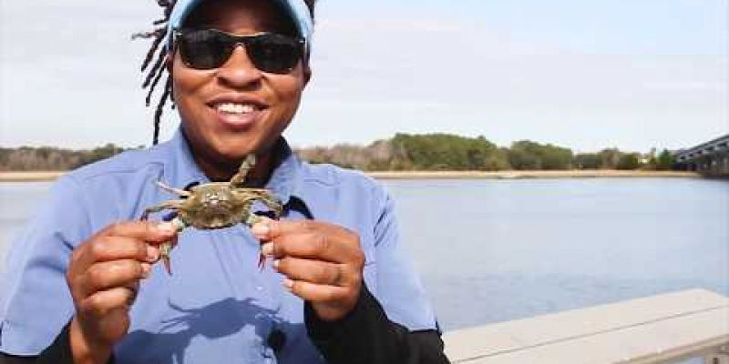Embedded thumbnail for Casual Crabbing with Tia Clark
