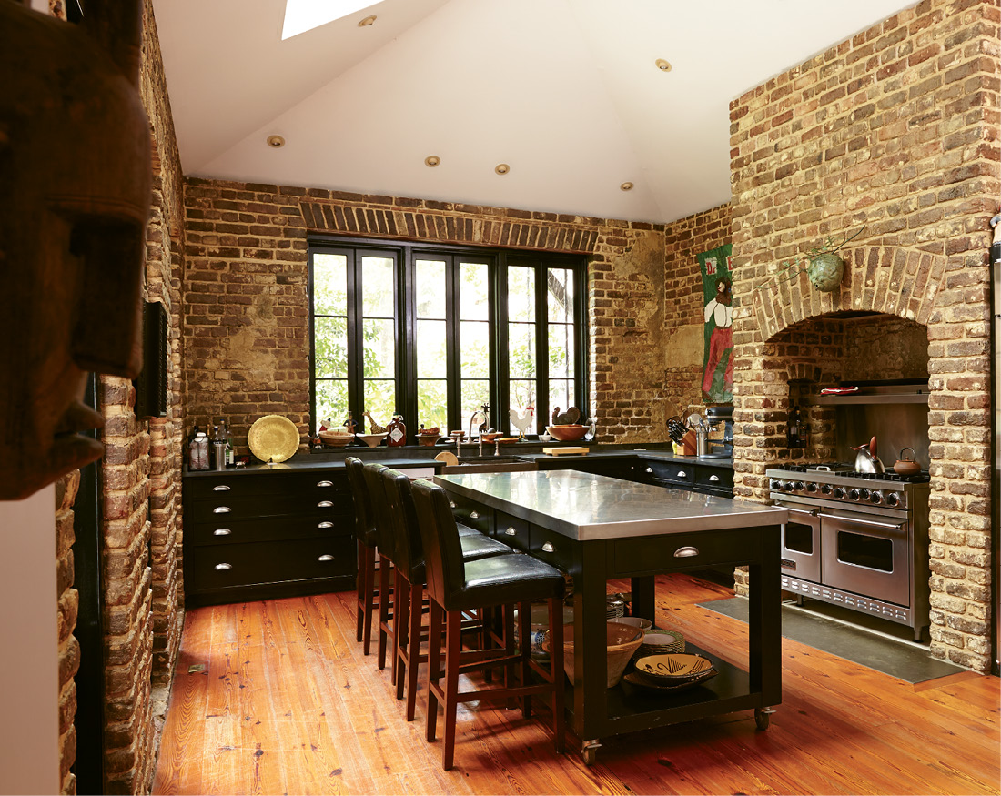 As an entertaining expert and avid home cook, Suzanne spends many happy hours within the exposed brick walls of the kitchen.